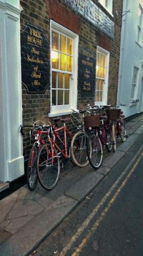 bikes at the ship
